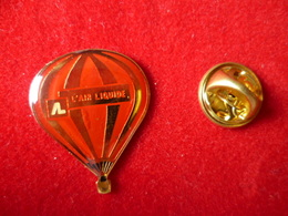 PIN'S MONTGOLFIERE   L'AIR LIQUIDE - Airships