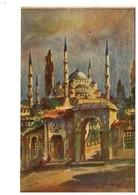 TURCHIA COSTANTINOPOLI COSTANTINOPLE Istanbul Moschea Sultan Ahmet - Turchia