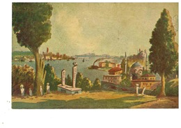 TURCHIA COSTANTINOPOLI COSTANTINOPLE Istanbul Cimetiere D'Eyup - Turchia