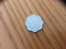 Pièce 5 Cents - 1986 - EAST CARAIBBEAN STATES - Caraïbes Orientales (Etats Des)