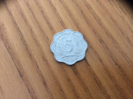 Pièce 5 Cents - 1986 - EAST CARAIBBEAN STATES - East Caribbean States