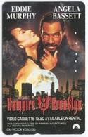 1880 - VAMPIRE IN BROOKLYN Mit Eddie Murphy Und Angela Bassett - Movie / Film - Japan Telefonkarte - Cinéma
