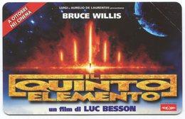 1881 - IL QUINTO ELEMENTO Mit Bruce Willis - Movie / Film - Italien Telefonkarte - Kino