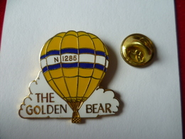PIN'S MONTGOLFIERE  THE  GOLDEN BAR - Airships
