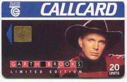 1884 - GARTH BROOKS - Musik Telefonkarte Aus Irland - Musik