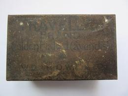 Old Tobacco Cigarette   Metal Tin Box - Contenitori Di Tabacco (vuoti)