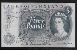 Grande Bretagne -  5 Pounds - Pick N°357a - SUP - Gran Bretagna
