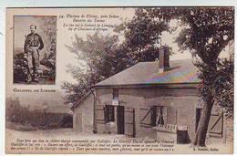 08. PLATEAU DE FLOING Prés SEDAN . BUVETTE DU TERME . Là Fut Tué Le Colonel De LINAGE Du 4 Iéme Chasseurs .  1870 - France