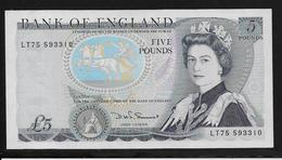 Grande Bretagne -  5 Pounds - Pick N°378e - SPL - Grande-Bretagne