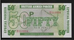 Grande Bretagne -  Militaire - 50 Pence - Pick N° M46 - NEUF - Emissions Militaires
