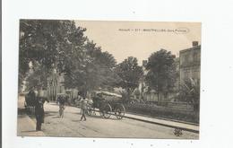 GARE DE PALAVAS HERAULT 217 MONTPELLIER (ATTELAGE DE CHEVAUX) - Palavas Les Flots