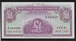 Grande Bretagne -  Militaire - 1 Pound - Pick N° M36 - NEUF - Emissions Militaires