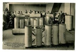 CPA 28 Eure Et Loir Nogent-le-Retrou Manufacture De Pianos Automatiques Magnan Frères Le Pointage Des Cylindres Animé - Nogent Le Rotrou