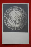 """AK """"Reichsarbeitsdienst Lager 3/81 Für Die Weibliche Jugend 1939"""" - Weltkrieg 1939-45"""