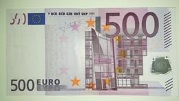 EURO-GERMANY 500 EURO (X) R014 Sign TRICHET - EURO
