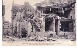 & Bombardement  De Reims - Angle Des Rues Belle-Tour Et Ponsardin - Reims