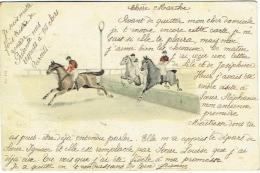 Illustrateur. Course De Chevaux. - Illustrateurs & Photographes