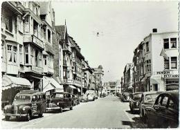 Westende. Distellaan. Avenue Des Chardons. Automobiles. - Westende