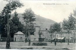 Saint Geniez D'Olt. La Place - Autres Communes