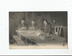 POISSY 5 HOPITAL AUXILIAIRE N° 38 INTERIEUR DU PARLOIR (GUERRE 1914 1918 MILITAIRES) - Poissy