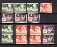 1940    Pologne 1940, Gouvernement Général, Occupation Allemande, 5X 72 / 74**, Cote 40 €, - 1939-44: World War Two
