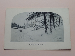 GOD JUL ( Eskil Holm Sthlm ) Anno 19?? ( Zie Foto Details ) ! - Suède