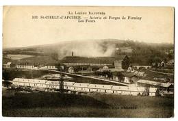 CPA 48 Lozère Saint-Chely D'Apcher Acierie Et Forges De Firminy Les Fours - Saint Chely D'Apcher