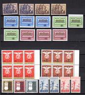 1943-64   Portugal, Petit Lot Neuf, Entre 645 Et 937**, Cote 54 €, - Unused Stamps