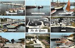 - Morbihan - Ref-D596- Ile De Groix - Souvenir De .. - Multi Vues - Edition  Gaby - Pas De N° -carte Bon Etat - - Groix