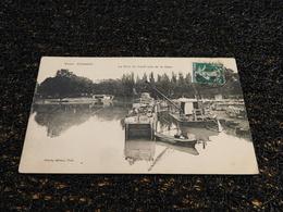 Péniche : Toul Illustré, Le Port Du Canal Près De La Gare (O5) - Hausboote