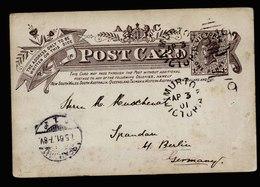 A5504) Australia Victoria Postcard 04/03/1901 To Germany - 1850-1912 Victoria