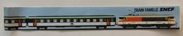 Rare Autocollant SNCF Train Famille Années 70/80 - Eisenbahnverkehr