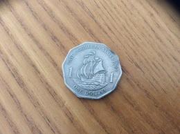 Pièce 1 DOLLAR - 1989 - EAST CARAIBBEAN STATES - Caraïbes Orientales (Etats Des)