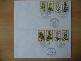 Deutschland Berlin/BRD 1978- Berlin Brief Mit Satz Wohlfahrtspflege MiNr. 573-576, Detto BRD Brief MiNr. 982-985 - Briefe U. Dokumente