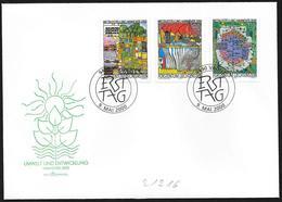 """Liechtenstein: FDC, """"Hannover 2000"""" - 2000 – Hannover (Germania)"""