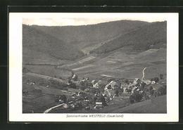AK Westfeld / Sauerland, Ortspanorama Vom Berg Aus Gesehen - Allemagne