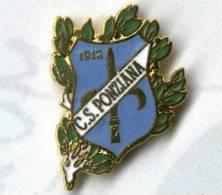 C.S. Ponziana 1912 Trieste Football Pins Soccer Distintivi Calcio - Calcio