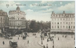 Bruxelles - Brussel - Un Coin De La Place Rogier - 27 - Editions A. Scheers - Places, Squares
