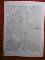 PALERME 1882 ATLAS DES PORTS ETRANGERS Dim 24.5 X 33 Cm - Nautical Charts