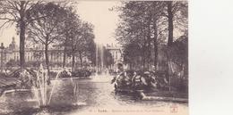 CPA - 14. LYON Bassins Et Jardins De La Place Bellecour - Lyon