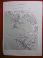 CARTAGENA 1878 ATLAS DES PORTS ETRANGERS Dim 24.5 X 33 Cm - Nautical Charts