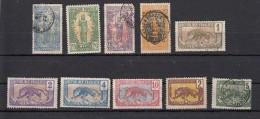 Congo Français  Lot De 10 Timbres - Französisch-Kongo (1891-1960)