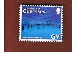 GUERNSEY  -  SG 907  -  2001  VAZON BAY -   USED - Guernsey