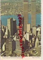 ETATS UNIS AMERIQUE- TWIN TOWERS OF THE WORLD TRADE CENTER- - New York City