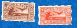 ITALIE-1930- N++ -Naissance De Virgile -   2 Timbres ( 50 Cts Et 1 L )   Bon état - - 1900-44 Victor Emmanuel III