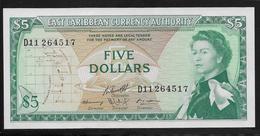 Caraïbes Orientales -  5 Dollars - Pick N°14h - NEUF - Caraïbes Orientales