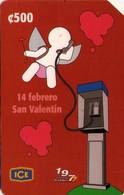 TARJETA TELEFONICA DE COSTA RICA. (PREPAGO) 14 FEBRERO SAN VALENTIN. 005 - Costa Rica