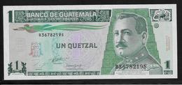 Guatemala -  1 Quetzal - Pick N°87a - NEUF - Guatemala