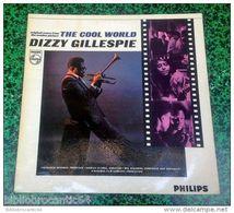 """LP 30cm* Original Score """"THE COOL WORLD/ DIZZY GILLEPSIE * < PHILIPS 652052 BL < 1964) - Jazz"""