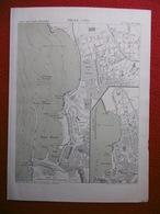 ORAN 1886 ATLAS DES PORTS ETRANGERS Dim 24.5 X 33 Cm - Cartes Marines